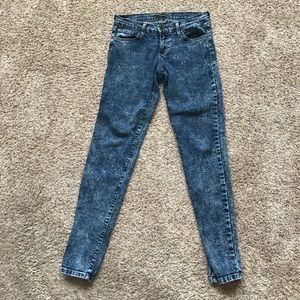 Flying Monkey acid washed jeans